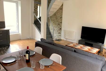 Le Duplex 2 chambres Cherbourg Centre