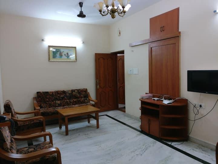 Luxurious Two Bedroom Flat in Velachery, Chennai