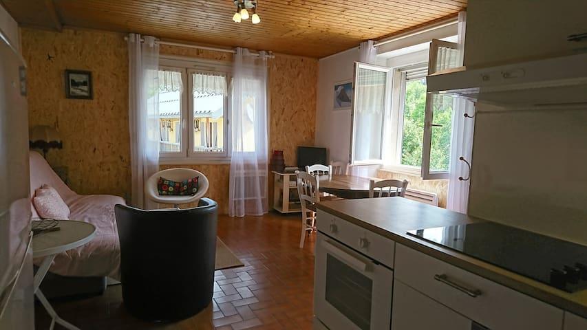 Appartement agréable au coeur d'un village