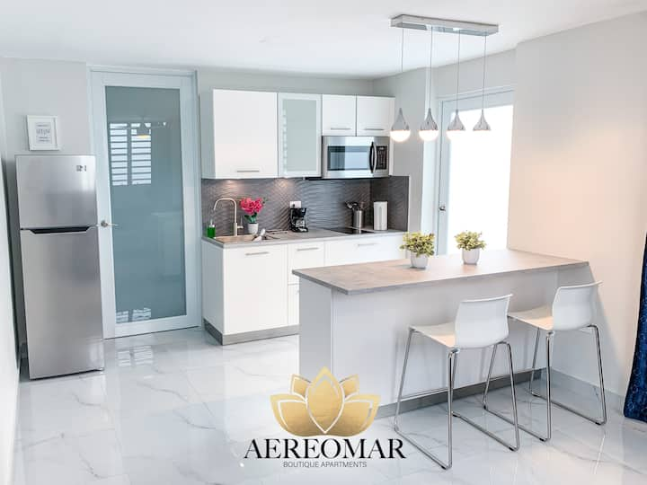 Modern apartment close to airport and beach 1504