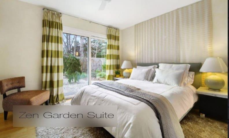 Zen Garden Suite, private outdoor seating & dining