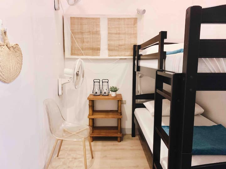 Clean & Cozy Fan Room for 2 | Starfish Eco-Hostel