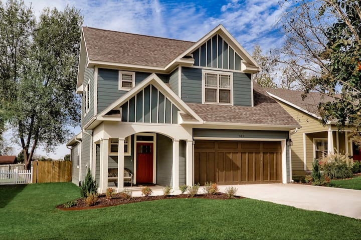 New Craftsman Home in Downtown Bentonville - Bentonville - Hus