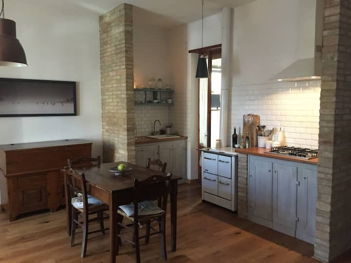 Appartamento in villino indipendente-Val d'Orcia
