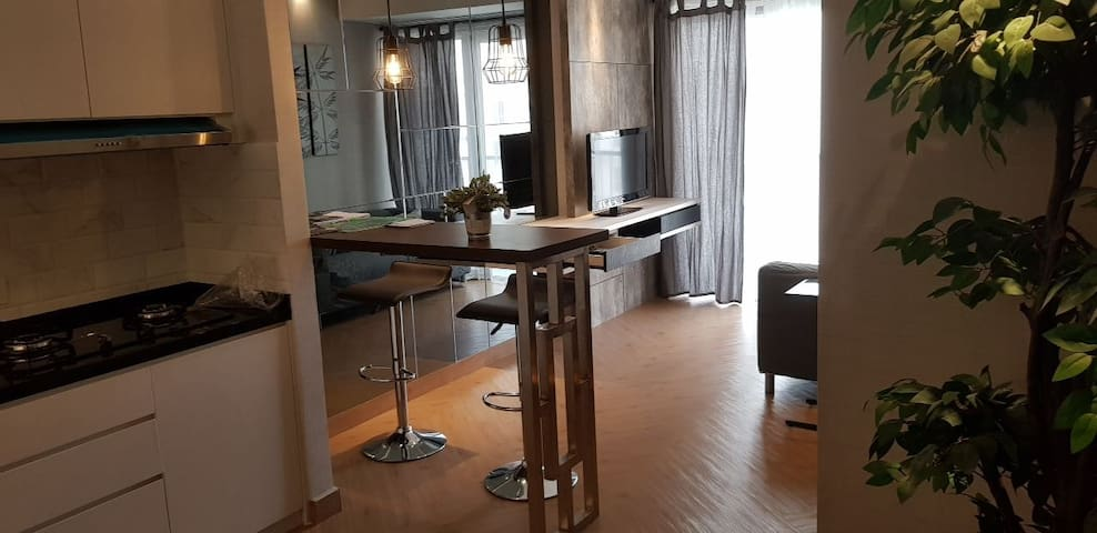 Luxury Casa de Parco 1BR close AEON mall & ICE BSD
