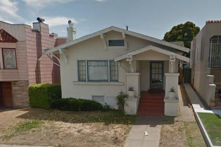 Charming craftsman home - San Francisco