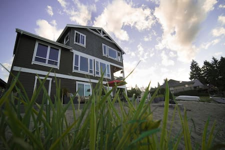 Waterfront Luxury Lake Home - Stanwood - Huis