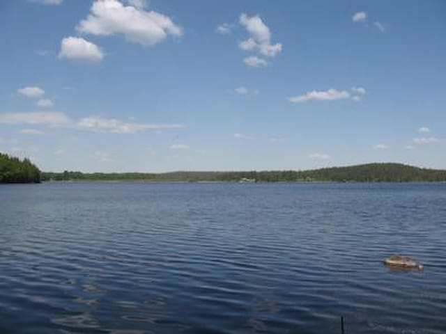 Ferienhaus Ekesta am See, Sauna, Boote, WLAN, Natur, Wald, Ruhe