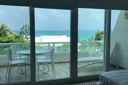 Nice Sea View Beach Front Condo with Terrace