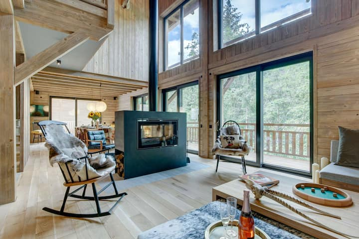 Mesange Boréale - Brand new chalet 6 bedrooms 6 bathrooms for up to 15 people