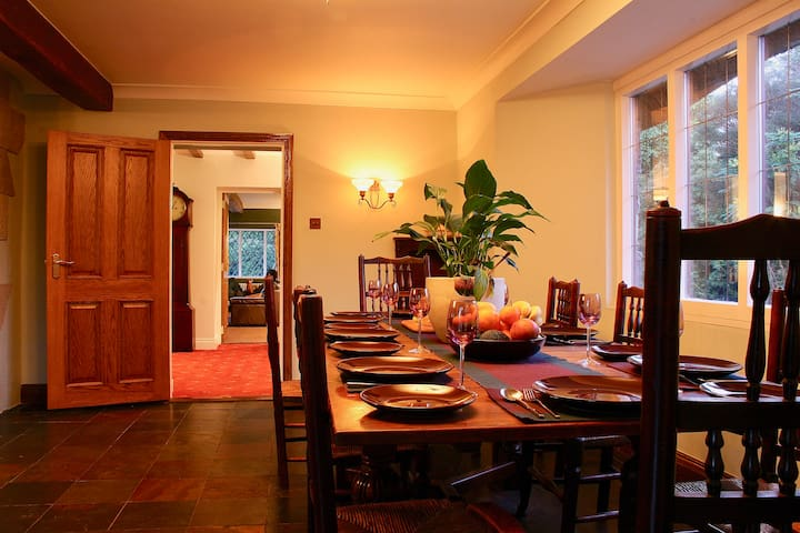 The Dining Table in the Pantry