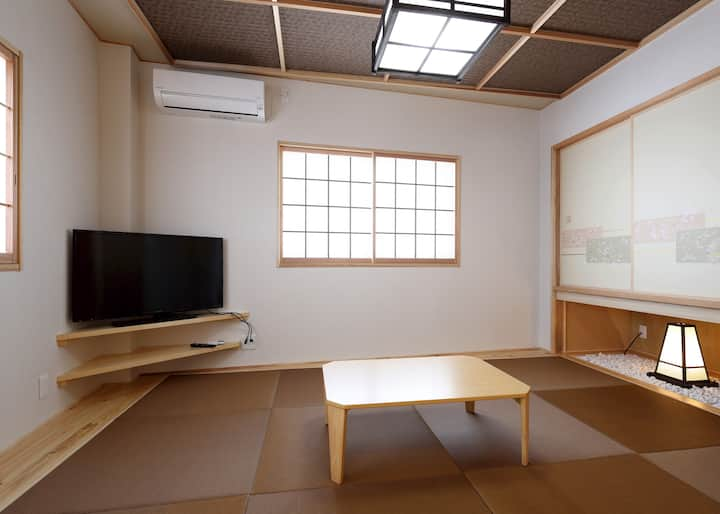 ROOMS SUIZENJI 3rd floor(天 TEN)(Free parking lot)