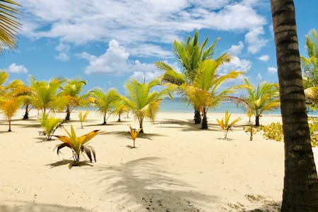 2BR beach APT  near restaurants and markets.