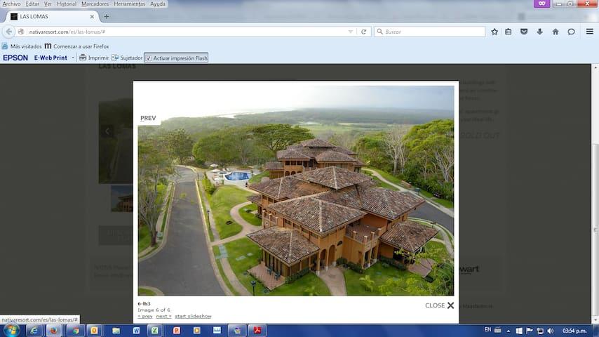 Apartamento Lomas 2D NATIVA Resort - Tarcoles - Appartamento