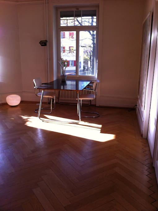 big art deco table to work or to relax on