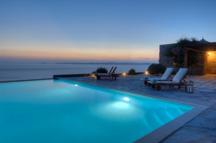 Phos Residence | Pool villa, Koundouros, Kea