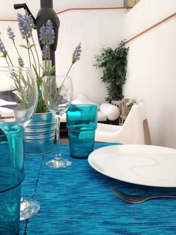 Casa azul for relax, sun, beach, mountain, culture