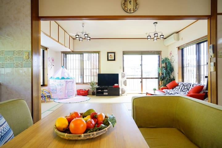 No additional charge up to 5!Totoro House freeWIFI - Uruma-shi - House