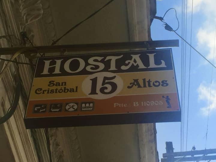 Hostal San Cristobal 15 Altos (Habitación Tres)