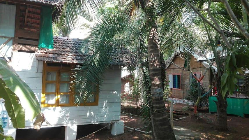Nice hut in exuberant garden - Morjim, Goa, IN - Haus