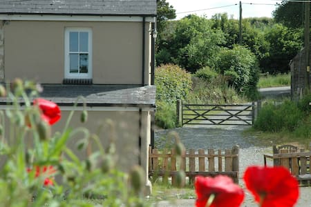 Cosy Cottage with wood fired hot tub - Carmarthenshire
