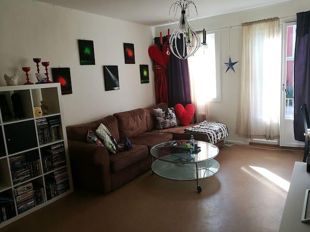Central and comfort room in Oslo, Majorstua - Oslo - Apartment