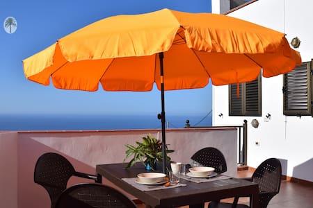 Acogedor apartamento con vistas al mar en el Sur. - Vallehermoso