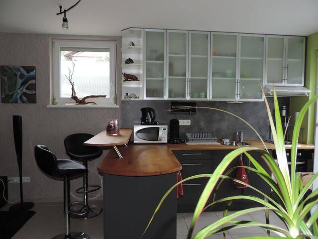 Appartement cosy de plain pied à la campagne