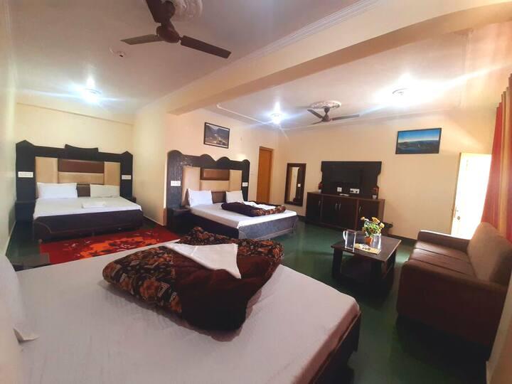 Bhagsu-Triple bedded-Family House-Bhagsunag