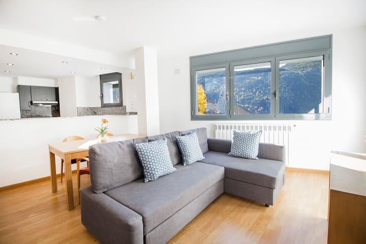 Apartamento moderno de 2 dormitorios. FF6