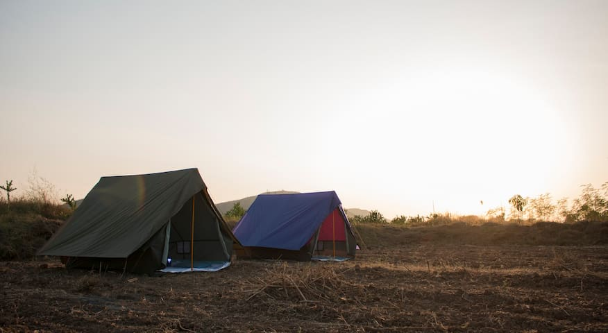 Igatpuri dam side camping for 31st dec