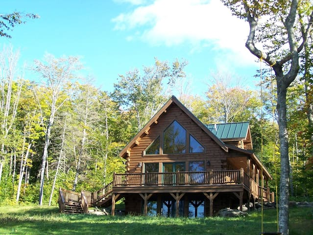 #103 Brand-new post &beam log cabin - Rockwood