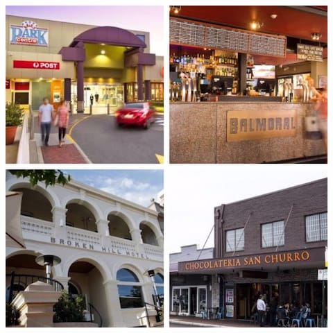 Shopping centre and bars & restaurants within walking distance in Albany Hwy