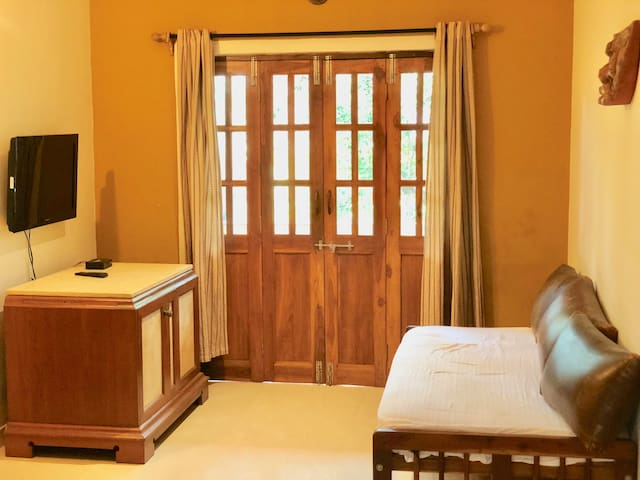 Comfy 1 BHK Apartment 2 minute to Baga Beach