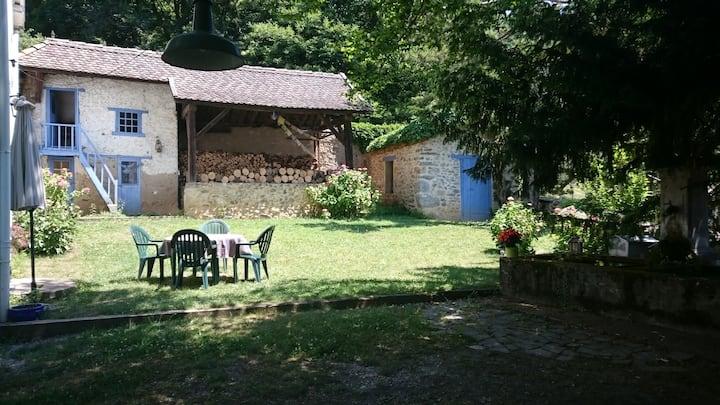 Character lodge near Grenoble (Alpes).