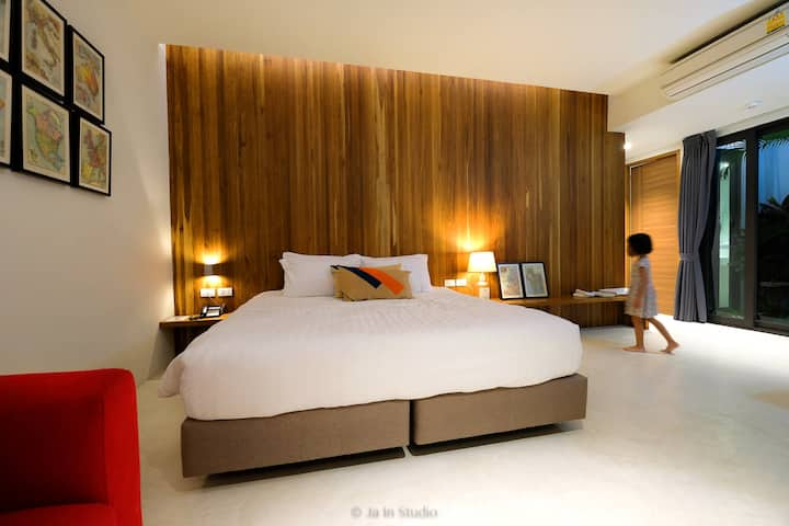 Garden Suit Room nearby Cicada Market Huahin just 2 min.