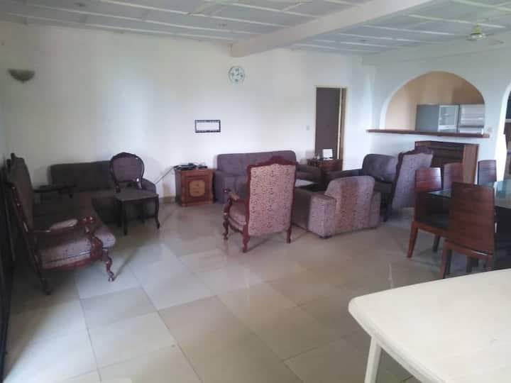 Appartement 3 chbres en étage au bord de l'océan