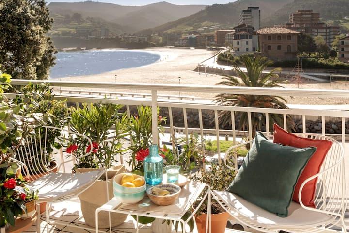 Apartamento recién reformado con vistas al mar