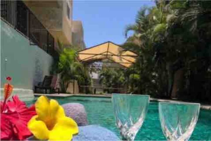 Cozy 3 bedroom downtown house in Cabo San Lucas