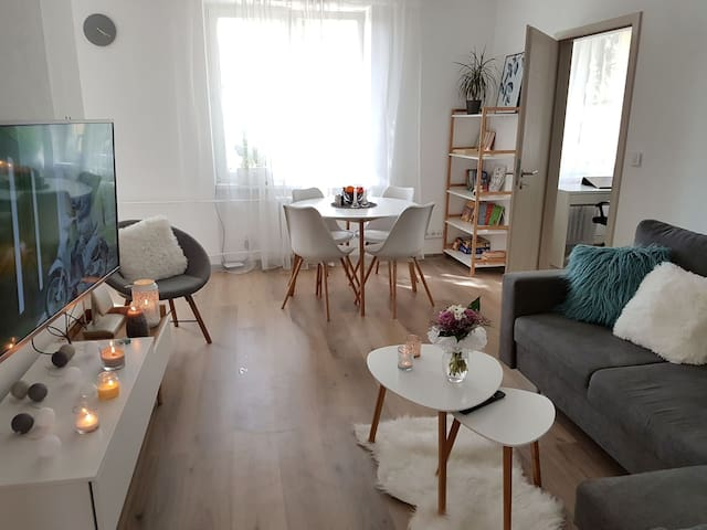 Modern apartment 15 minutes from the city centre