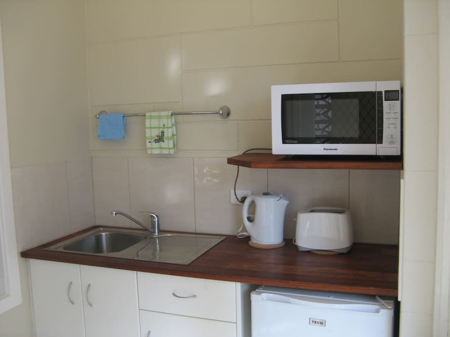 New kitchenette