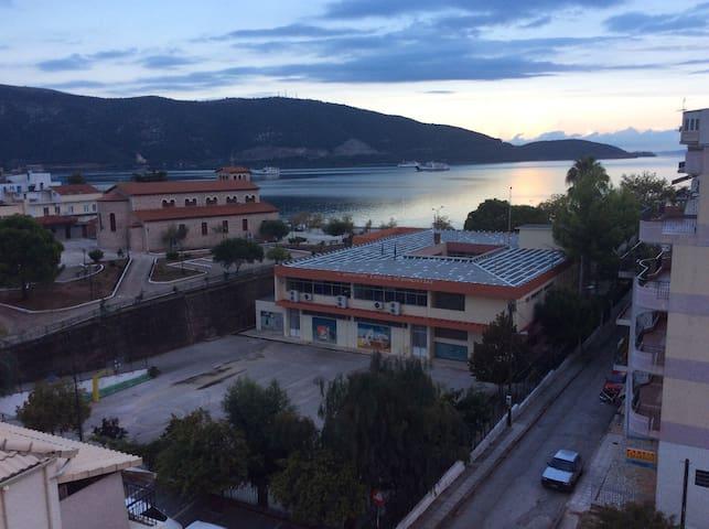 B2,The best view in Igoumenitsa center city,flats
