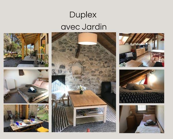 Appartement Duplex avec Jardin attenant