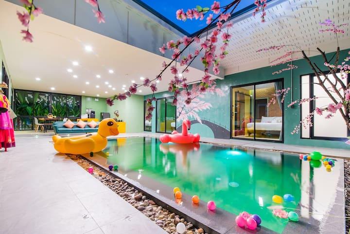 4 Bedroom Korean style Pool Villa in Hua Hin