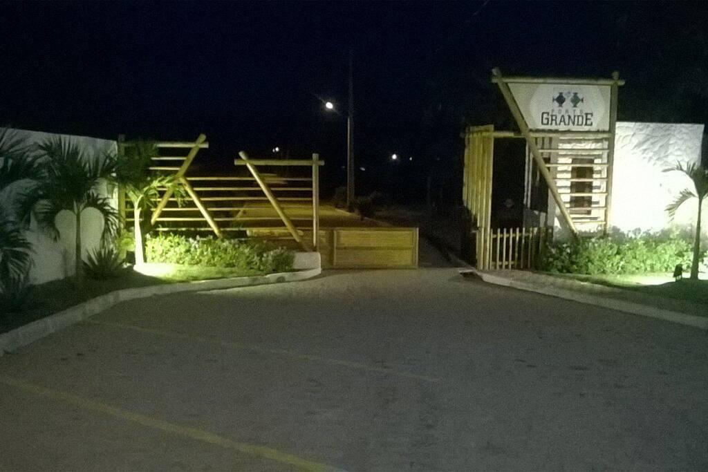 Portaria do Condomínio Residencial Porto Grande