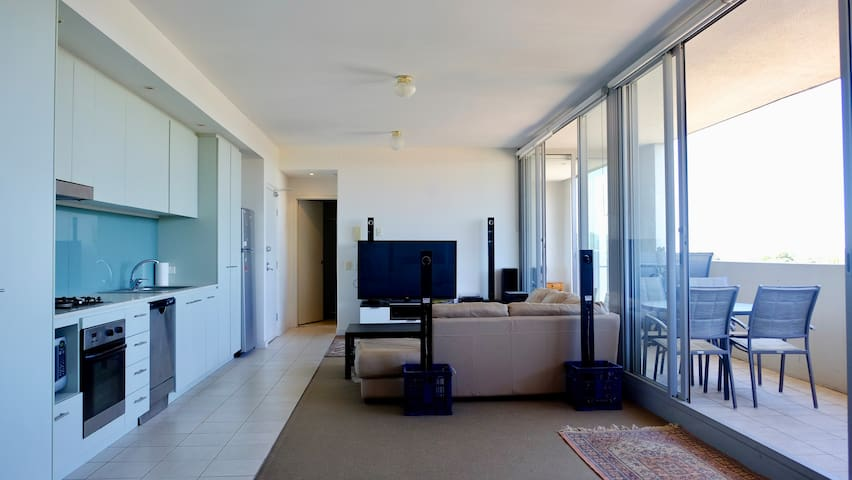 Spacious One Bedroom Apt- With Large Balcony