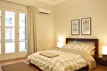Spacious Room with Terrace in Zamalek, Cairo
