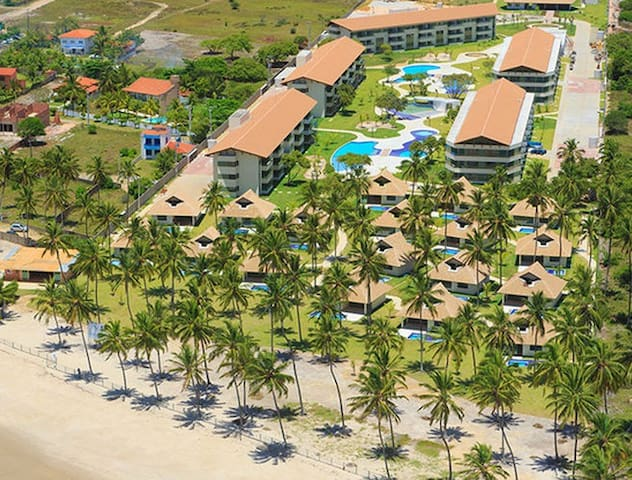 Flat no Carneiros Beach Resort - Tamandaré - Appartement