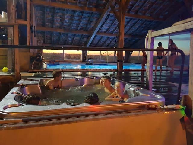 ferme d antan gers piscine chauffée spa salles 30+
