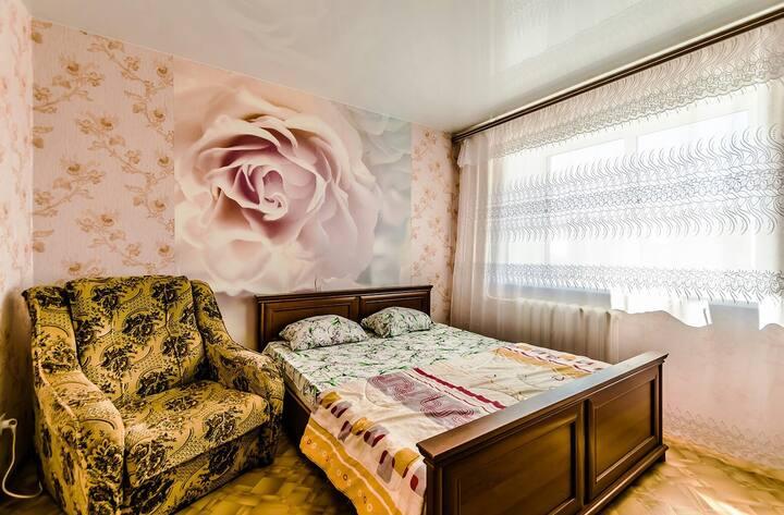 "Апартаменты ""Две Подушки"" на Партизанской 177а"